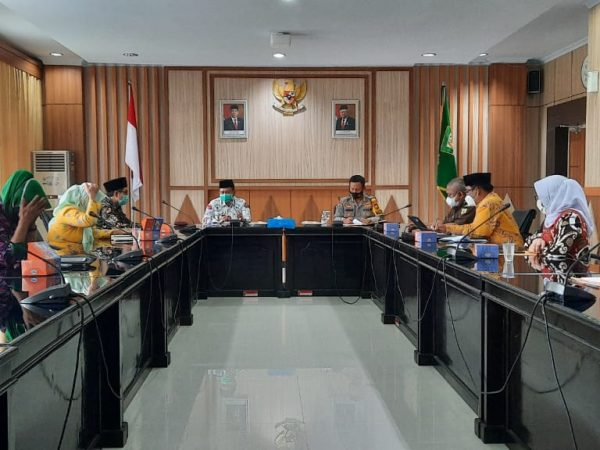 Perkuat Pengawasan, Satgas Saber Pungli Bengkulu akan Fokus pada Pencegahan Penyalahgunaan Bantuan Covid-19