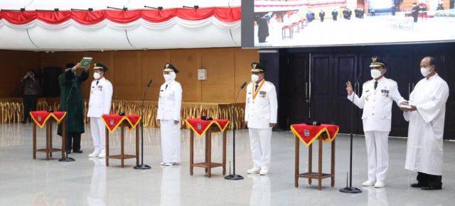 Mendagri Lantik Robert Simbolon sebagai Penjabat Gubernur Bengkulu